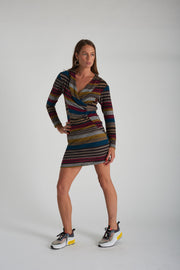 Linda Dress - Stripe