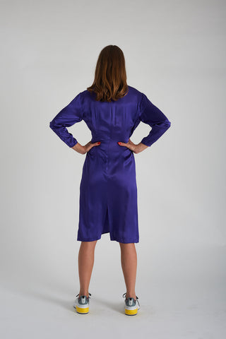 Jerry Dress - Purple