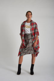 Sara Skirt - Grey Check