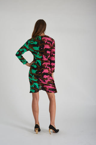 Jerry Dress - 50:50 Camo
