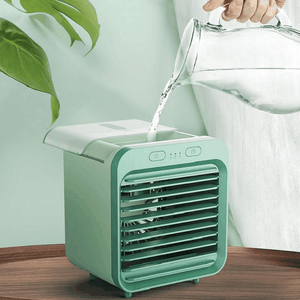 Personal Space Cooler, Mini Portable Air Conditioner, Humidifier with Water Tank