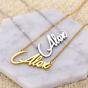 Personalized Name Necklace, Customized Your Name Jewelry, Best Friend Gift, Gift for Her