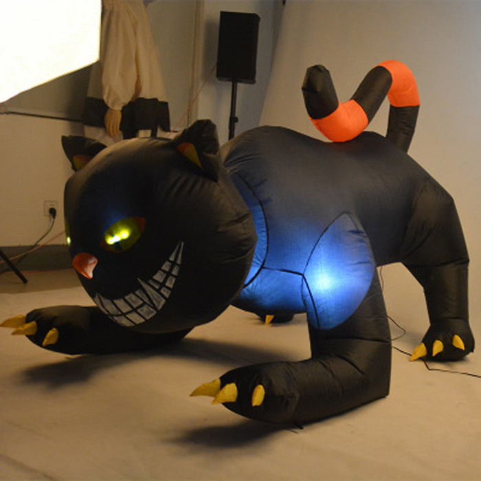 Inflatable Black Cat