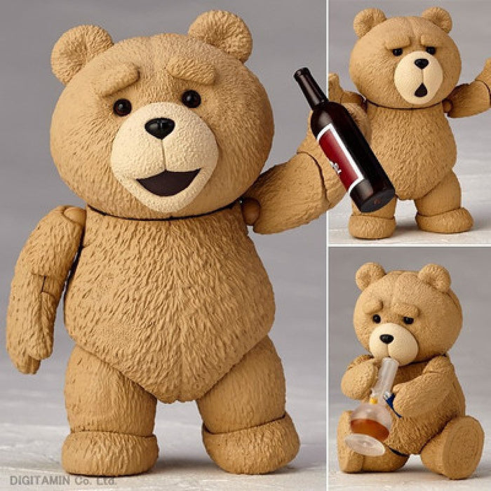 Movable Teddy Bear Figure