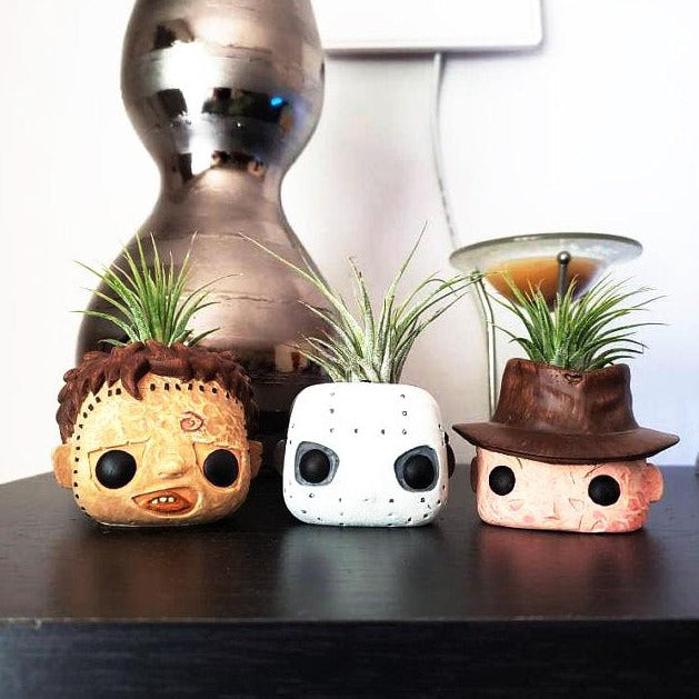 Air Plant Holder for Horror Movie Fans