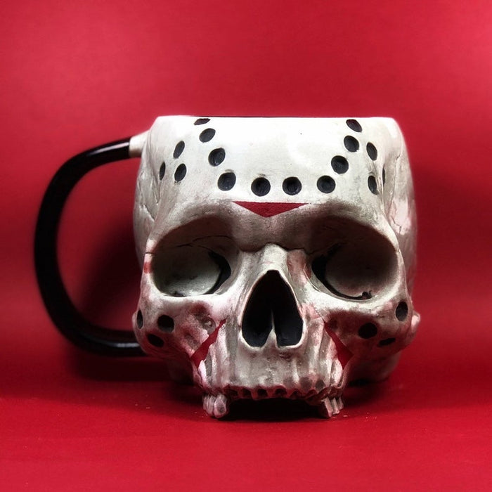 Friday the 13th Skull Mug