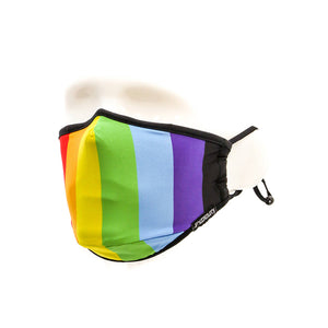 Gay Pride Rainbow Face Covering