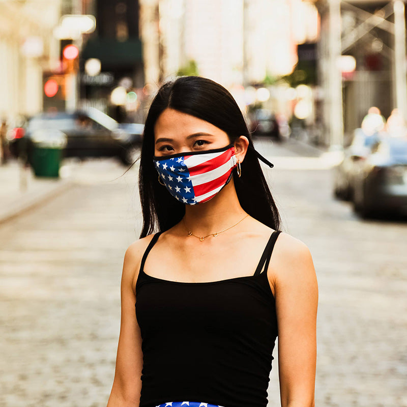 American Flag USA Face Covering | Fydelity | Coastal Gifts Inc