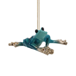 Blue Praying Frog