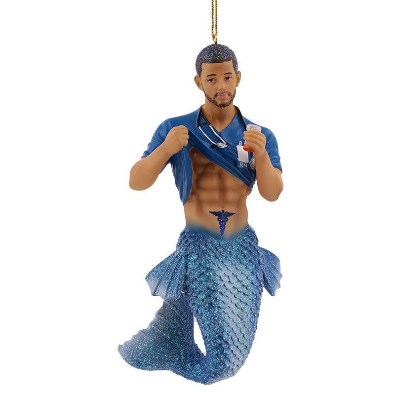 Nurse Six Pack Merman - December Diamonds | Coastal Gifts Inc