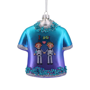 I Do Tee Ornament