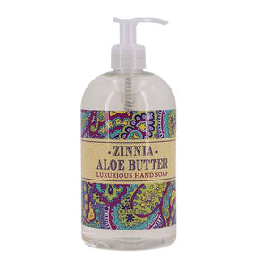 Zinnia Aloe Butter Liquid Soap