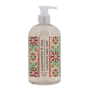 Peppermint Aloe Liquid Soap