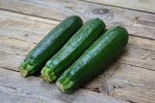 Load image into Gallery viewer, Organic Heirloom Dark Green Zucchini Seeds