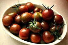Load image into Gallery viewer, Heirloom Organic Black Cherry Tomato Seeds