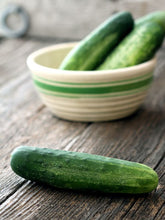 Load image into Gallery viewer, Heirloom Organic Straight Eight Cucumber Seeds