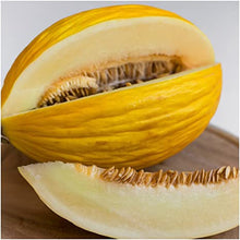 Load image into Gallery viewer, RARE Heirloom Organic Canary Melon Seeds