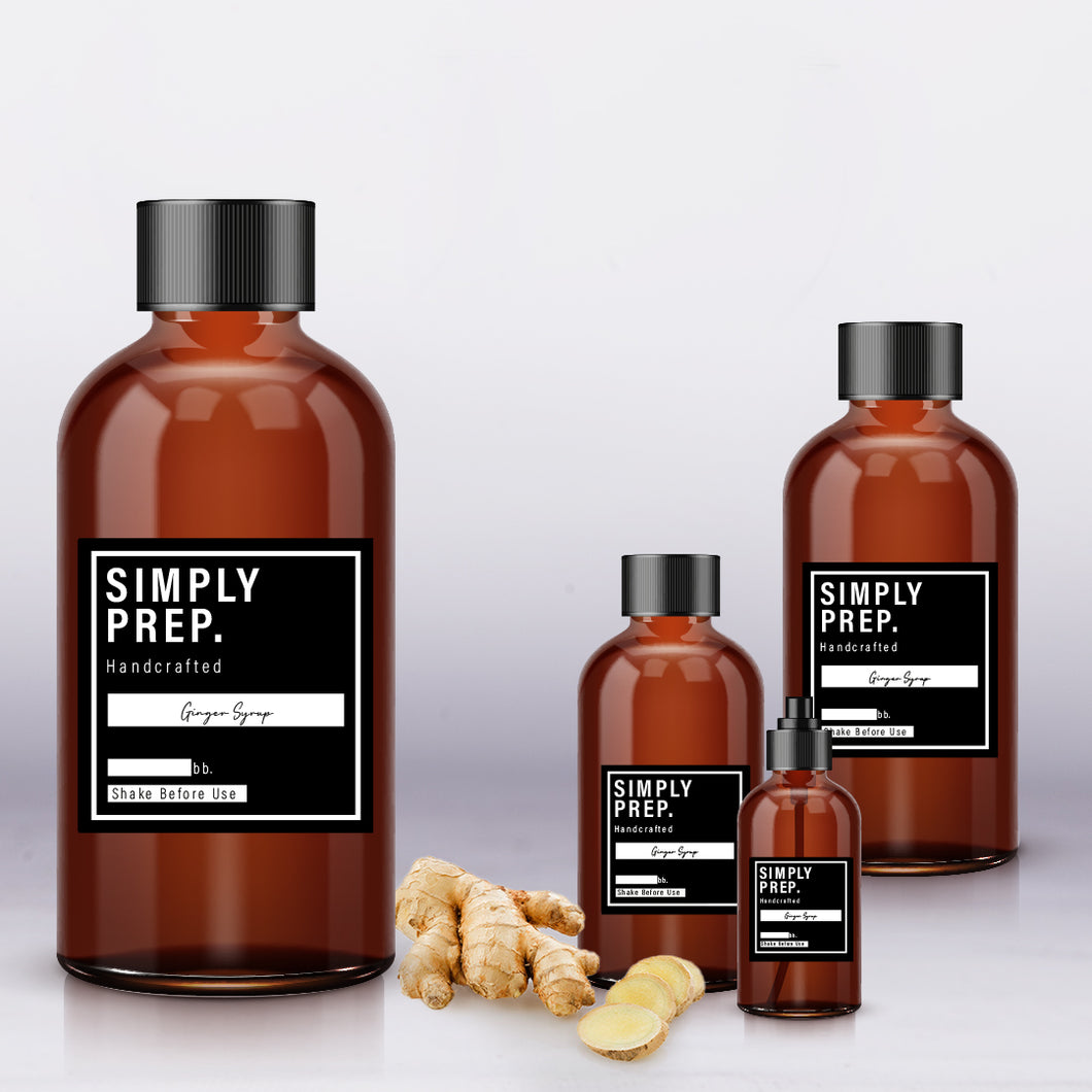 Simply Prep Ginger Syrup