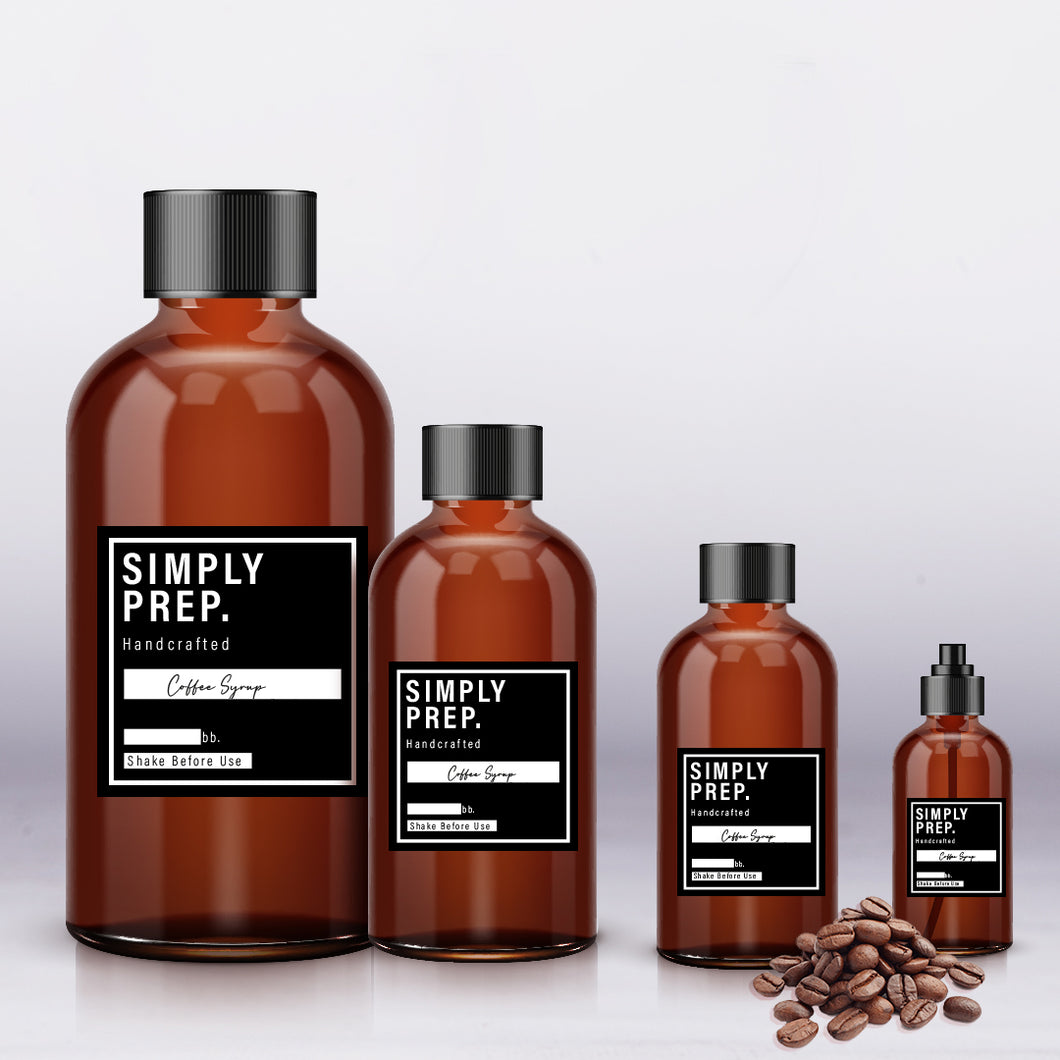 Simply Prep Coffee Syrup