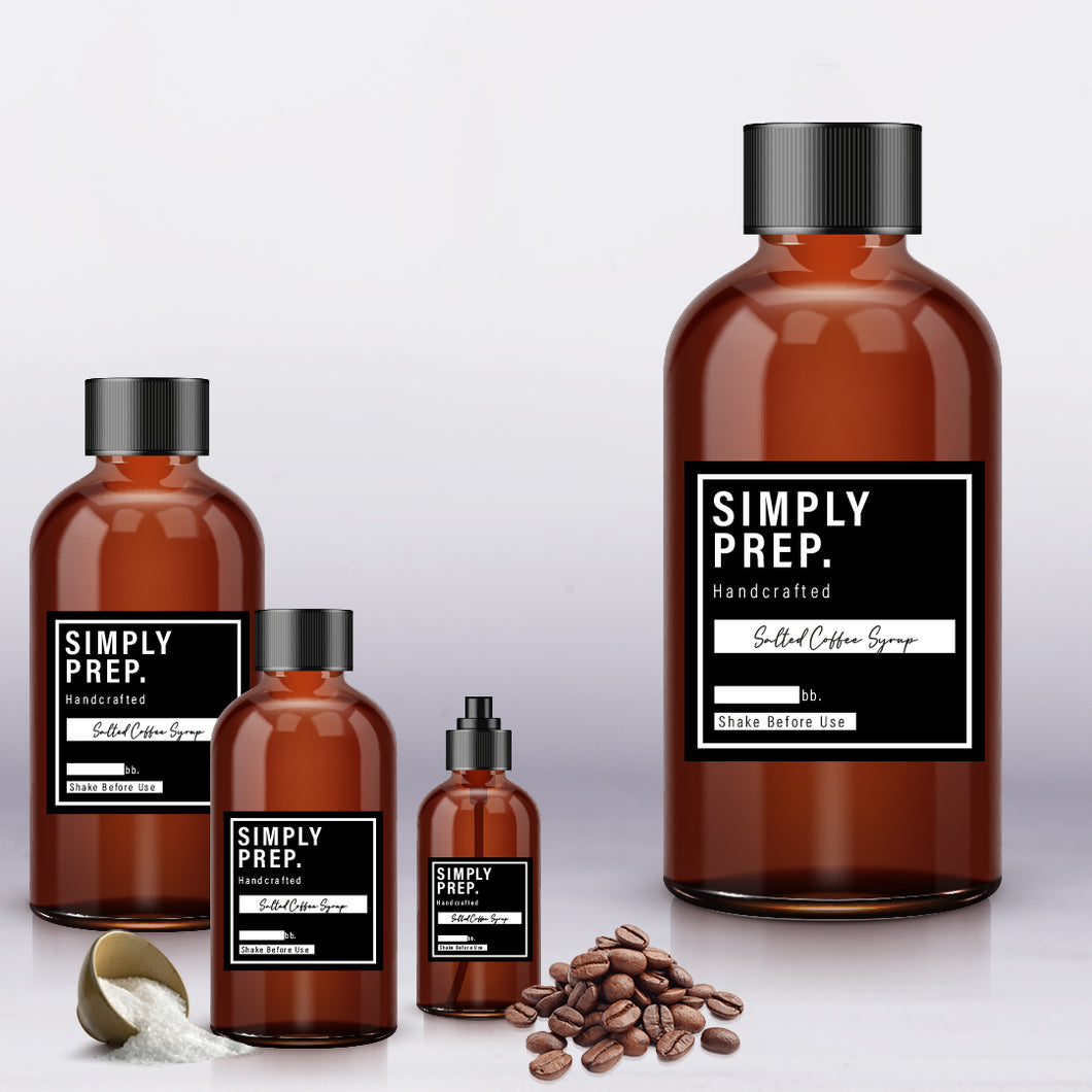 Simply Prep Salted Coffee Syrup
