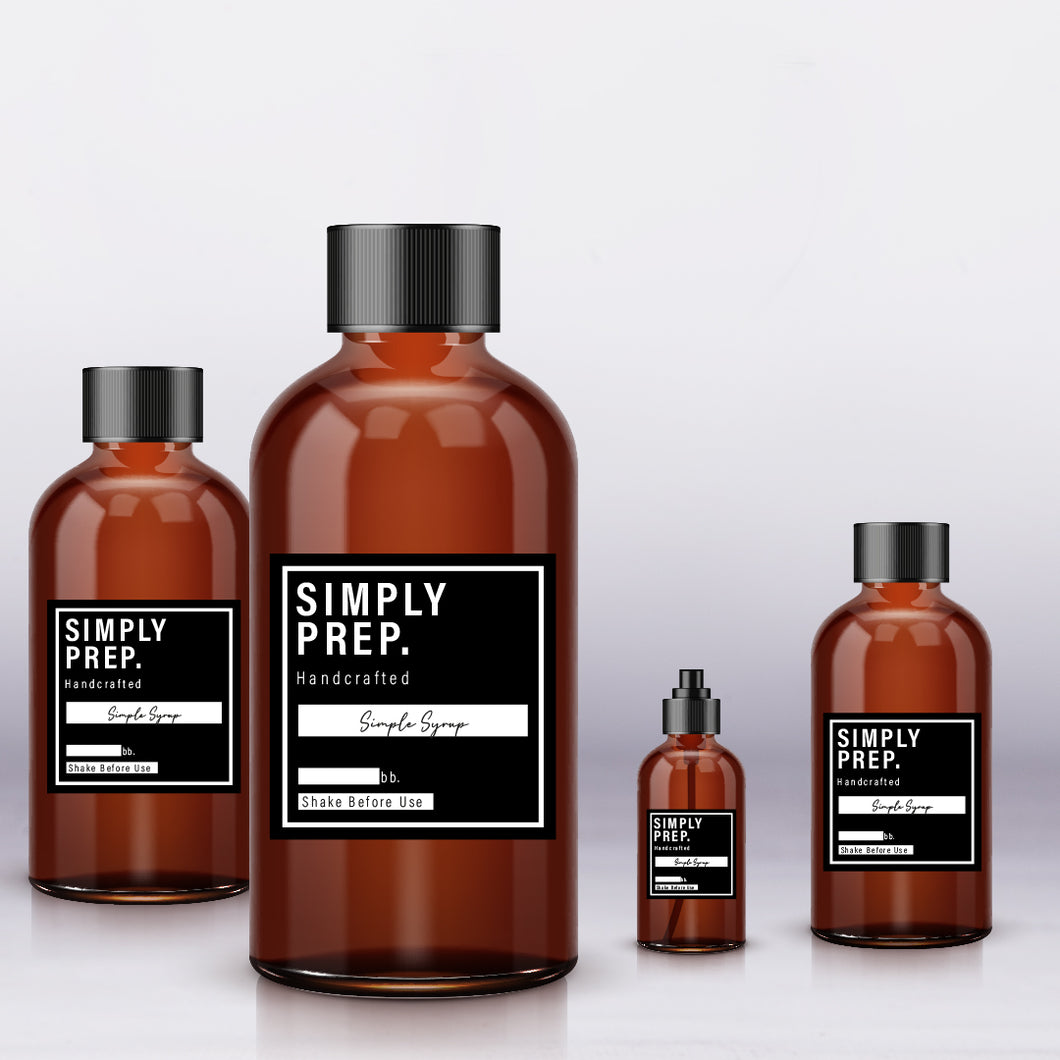 Simply Prep Simple Syrup