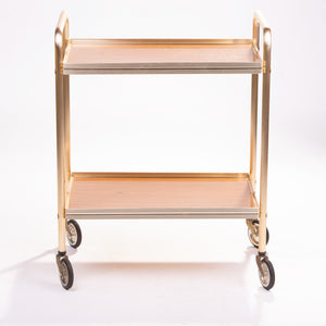 Gold Metal Trolley