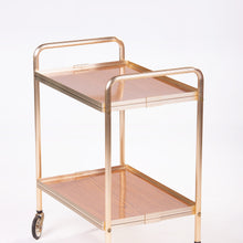 Load image into Gallery viewer, Gold Metal Trolley