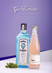 Bombay Sapphire X Just Short Series Cocktail Box