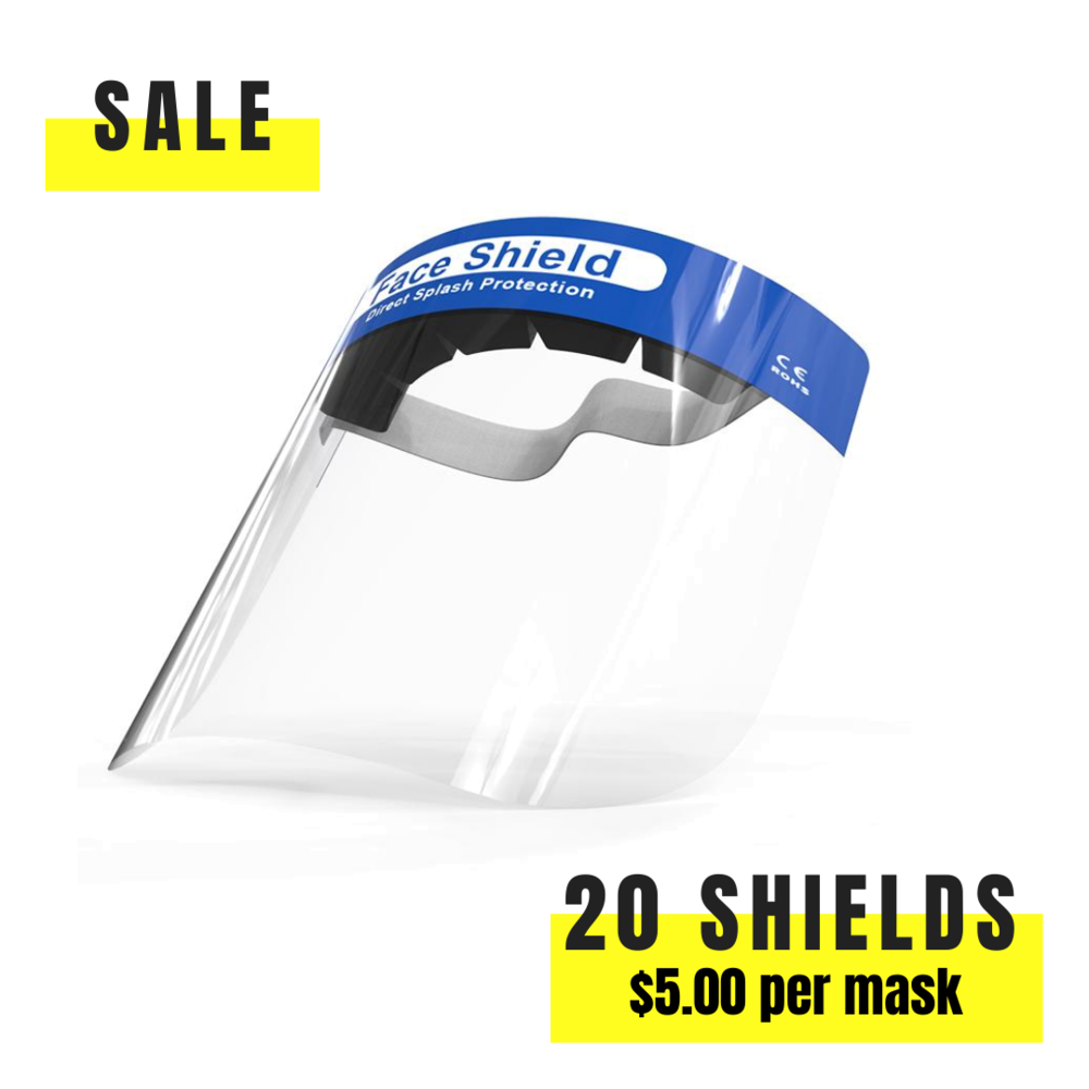 Face Shield Family Pack - The Mask Project
