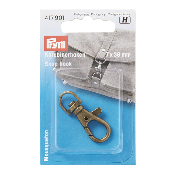 Prym - Mousqueton 7 x 38mm antique