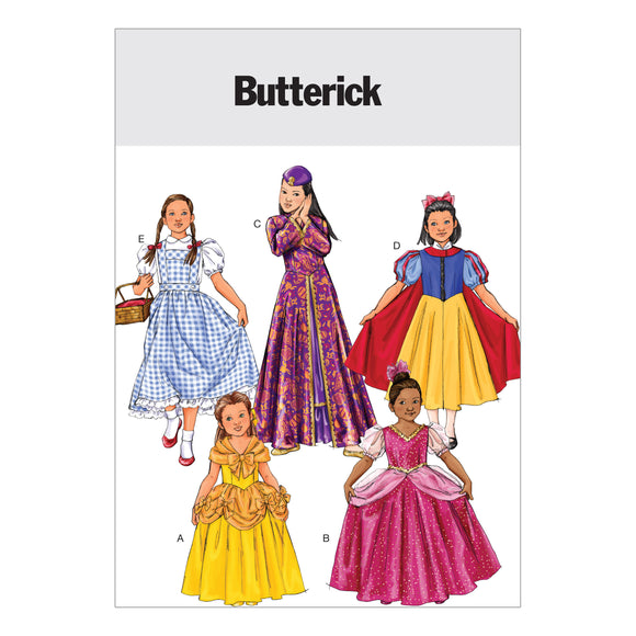 Patron Couture Butterick Fille 4320
