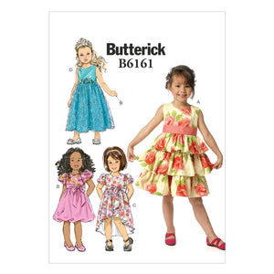 Patron Couture Butterick Fille 6161