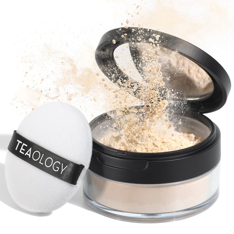 White Tea Perfecting Powder - Teaology Skincare USA