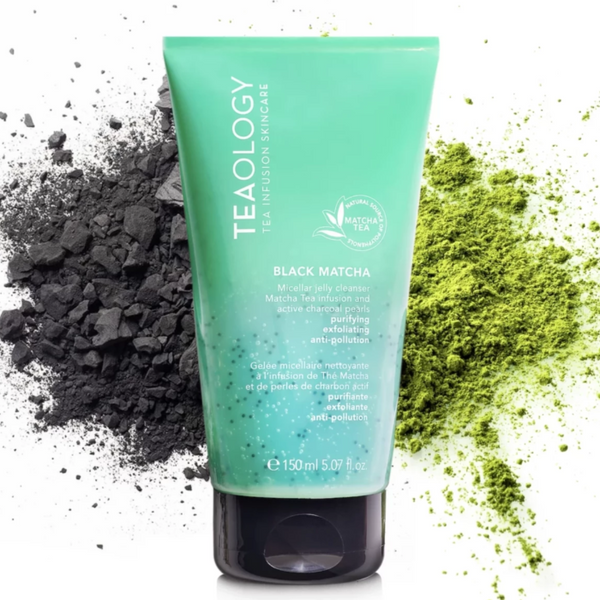 Black Matcha Micellar Jelly Cleanser - Teaology Skincare USA