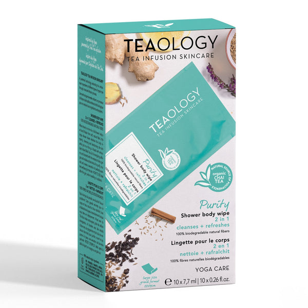 PURITY - Shower Body Wipe (MULTIPACK X 10) - Teaology Skincare USA