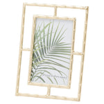 Gold Open Edge Photo Frame 6X4