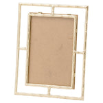 Gold Open Edge Photo Frame 5X7
