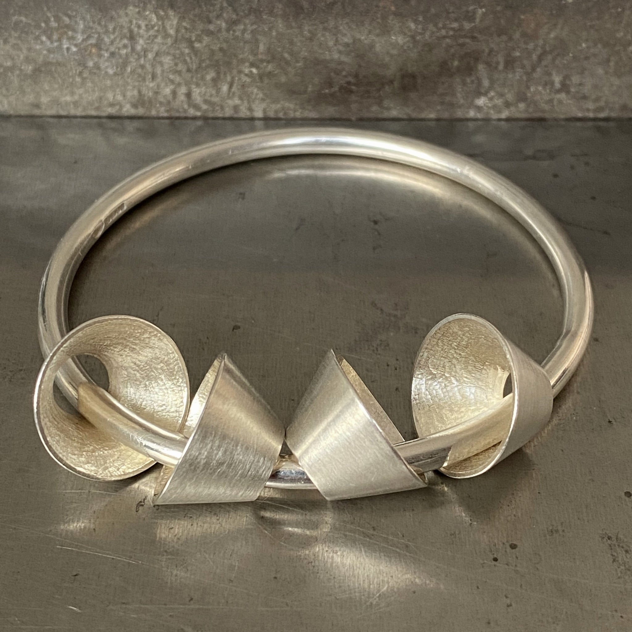 Classic Four Cone Element Bangle