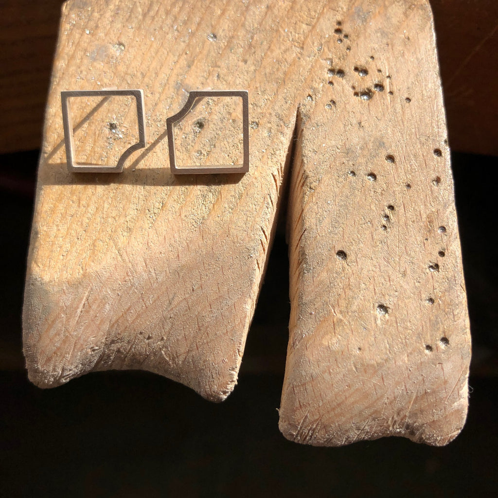 Square Cutout Edit Earrings