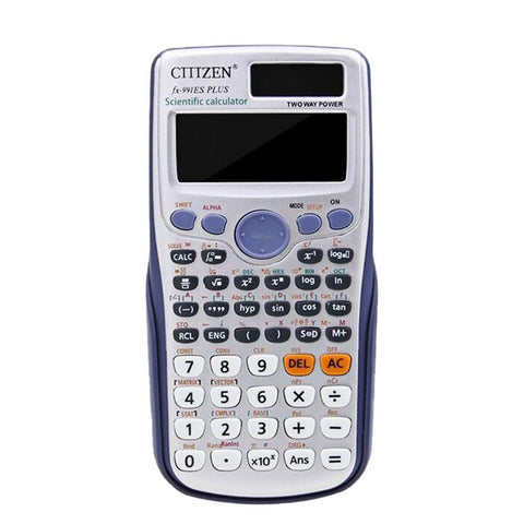 HobbyLane Student Scientific Calculator 24 Digits Full Function FX-991ES PLUS Electronic Calculating Tool Pocket Calculator d35