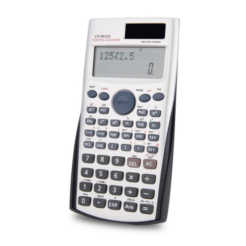 Scientific Calculator Muti-function Calculator Financial Accounting Tool with Two Way Power  for Mathematics Teaching