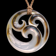 Load image into Gallery viewer, Black Pearl Tri Koru (3 Sizes) - Zen Gifts NZ