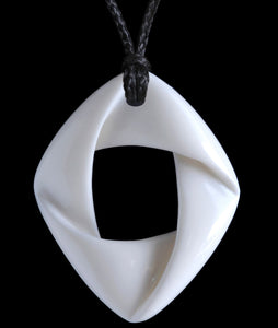 Bone Mobius Ribbon - Zen Gifts NZ