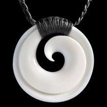 Load image into Gallery viewer, Bound Closed Circle Koru (2 Colours) - Zen Gifts NZ