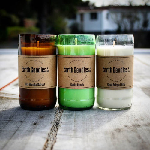 Beer Bottle Candles (200g) - Zen Gifts NZ