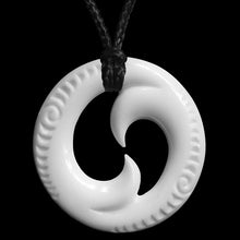 Load image into Gallery viewer, Small Engraved Double Koru - Zen Gifts NZ