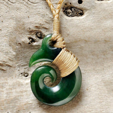 Load image into Gallery viewer, Jade Brosnan Koru - Zen Gifts NZ
