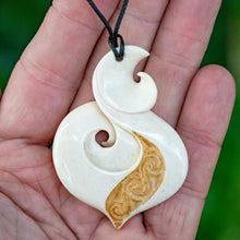 Load image into Gallery viewer, Large Engraved Koru - Zen Gifts NZ