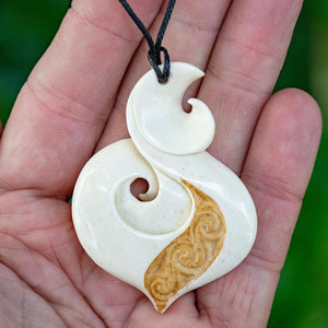 Large Engraved Koru - Zen Gifts NZ