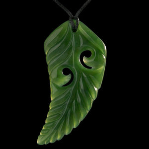 Large Fern With Koru - Zen Gifts NZ